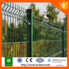 Green Plastic Coated Welded Iron Wire Mesh Fence