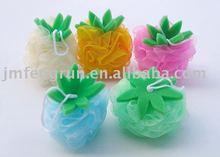 fruit bath puff