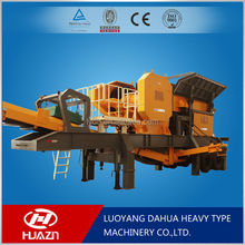 Luoyang Dahua save time reduce cost mobile crusher for sale YD mobile crushing plant