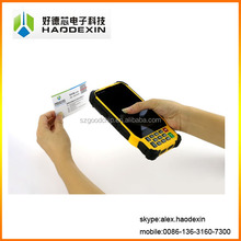 Android touch screen handheld rugged pda data collector with NFC GPS GPRS 3G WIFI 1D/2D Barcode scanner GC033