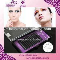 Professional Salon Mink Synthetic Eyelash Extension,Single Individual Eyelashes