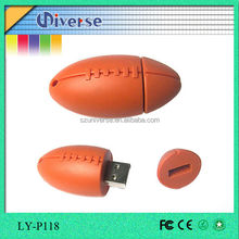 Mini American football shaped usb flash drive,American football usb flash