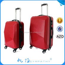 ABS/PC luggage sets sky travel luggage bags