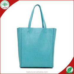Wholesale Italy brand high quality genuine leather hot sale handbags shopping bags lady tote bags from dongguan china