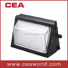 Glass Aluminum Material 40W 60W 80W 100W 120W 150W LED wall pack light with UL certificate