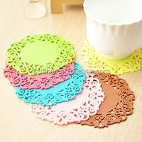 DIHAO OEM best selling products anti-slip cup mat silicon cup mat