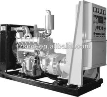 Natural gas powered generator backup power with water-cooled engine