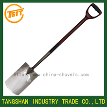 stainless steel round point shovel