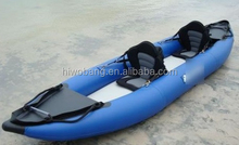 2 Person High Quality Cheap Blue Inflatable Kayak, Racing Boat, Inflatable Boat