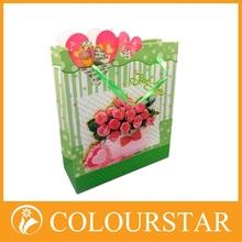 2015 noble high quality printing luxury handmade paper shopping bag