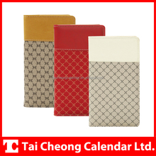 Professional Luxury PU or PVC Pocket Notebook