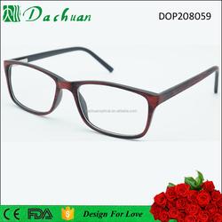 CP Injection Optical Frame eyeglass frame , eyeglass frame parts , good eyeglass frame with wooden brushed