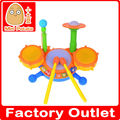 La educación preescolar juguetes, jazz tambor de juguete, con la luz y la música