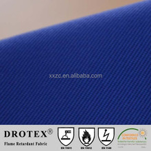 NFPA2112 100% cotton twill fr fabric 1ootimes washing