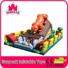 Kids Inflatable Amusement Park For Leisure Activities