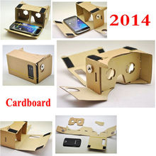 Google Cardboard Kits with NFC tag 3d vr Video Virtual Reality Glasses Goggles