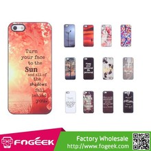 for iPhone 5s 5 Case,Metal Coated Hard Plastic Cover Accessory Case for iPhone 5s 5