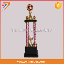 factory price golf trophy,silver custom sports cup metal trophy,parting gift ideas