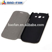 Factory price leather flip full printed sublimation cover for Samsung S3