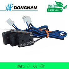 DONGNAN 2015 hot sell waterproof limit switch with wire for car