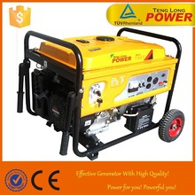 Wonderful Portable 5kw/kva 3 or single phase gasoline generator