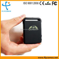 Original Flycomos Quad band GPS Tracker TK102B support TF Card Tracking device