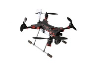 GF-H450mm Folding quadcopter carbon fiber frame 4 rotor helicopter for RC Aircrafte FPV DJI Controller