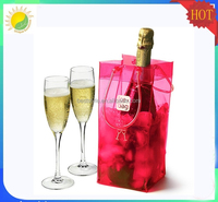 OEM design high quality plastic wine ice bag