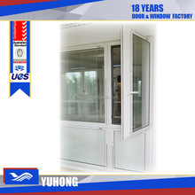 pvc blind inside double glass window