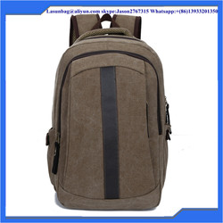 Canvas Material and Softback Type Men's backpacks 2015 new autumn fashion shoulder bag