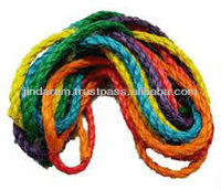 multi color thin sisal ropes