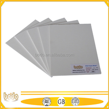 softer surface pvc foam board printing board