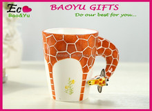 Creative Painting 3d mug Ceramic coffee cup & ceramic mug cup
