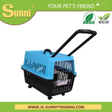 Fashion trolley cat dog pet carrier