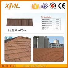 New design stone colored China roof tile in Aspirant type