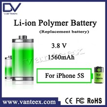For iphone 5s battery replacement zero cycle batteries with tool kit OEM