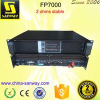 FP7000 Preamp Stereo Power Audio Dj Amplifier