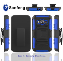 Factory supplier attractive 3D images phone protiective cover for samsung avant case