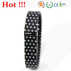 black with white dots color for Fitbit Flex Wristband, Bracelet