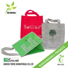 Non woven biodegradable t-shirt bags
