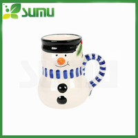 high quality snowman coffee mug