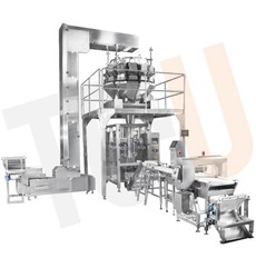 automatic vertical form fill and seal(VFFS) bagging line