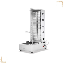 Electric turkey barbecue shawarma doner kebab machine with 5 temperature controllers for sale