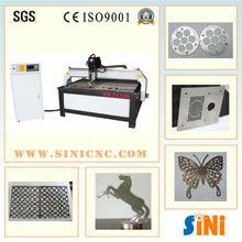 Sin-pa1530 hoja de metal industrial de plasma de corte de metal maquinaria