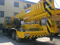 50T Secondhand/half new, hydraulic telescopic boom, Tadano TG 500-3 mobile/truck crane