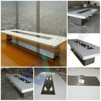 modern granite marble top conference table/conference desks