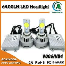 The best light output G4 LED headlight 9006 80w 6400lm