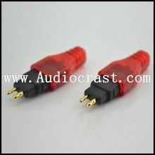 hifi diy pin adaptador Sennheiser hd580 HD600 HD650 kulaklık kulaklık diy işaretçilerine