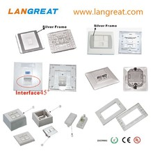 rj45 faceplate/network wall outlet