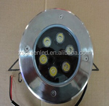 IP67 LED Ground Light 5x1W single color Outdoor LED Underground Light with 3 years warranty